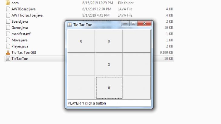 Deploying Tic-Tac-Toe Java GUI app | My Plugins